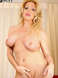 Blonde TS MILF