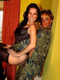 GG Aline loves a Tg in uniform!