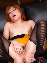 Orange Tutu Sofa Cum